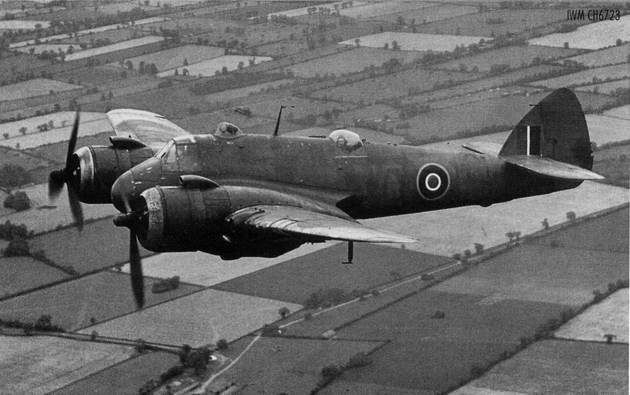 Beaufighter VIC RAF 236Sqn MB xx836 over England 1944 45 IWM CH6723