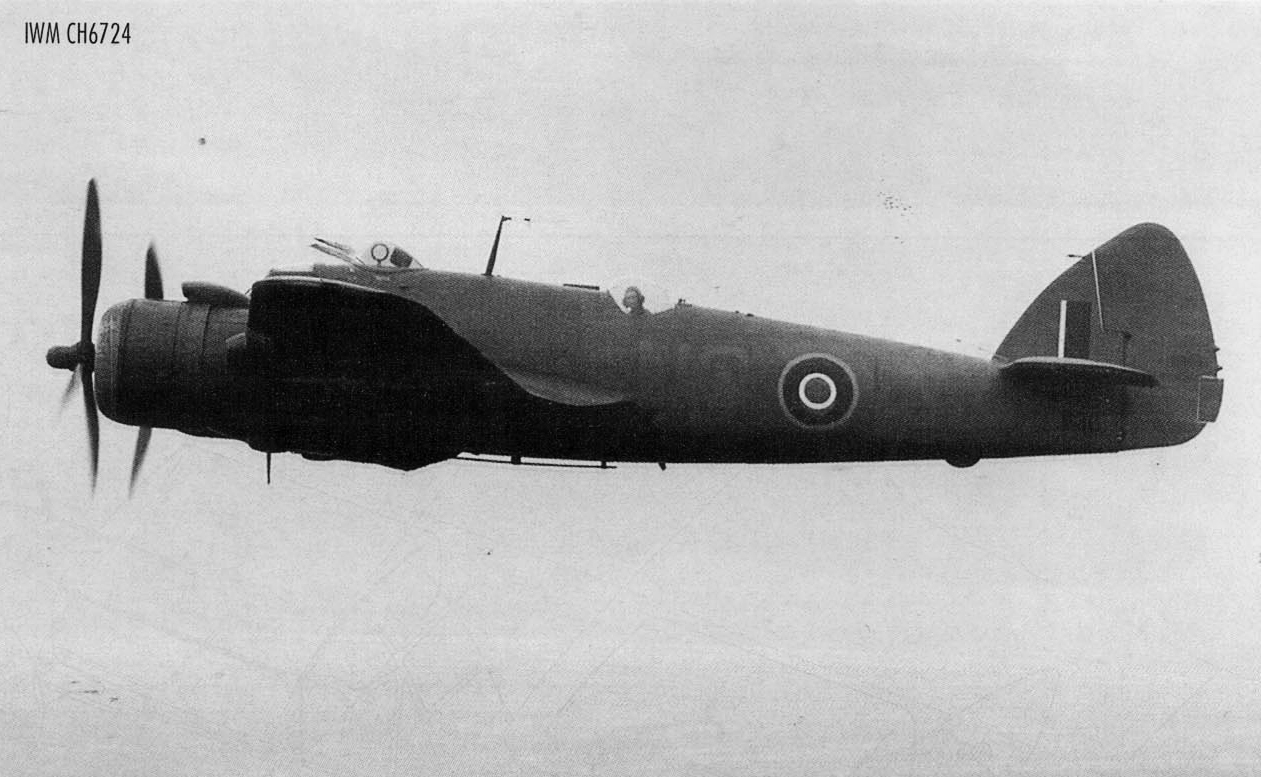 Beaufighter VIC RAF 236Sqn MB xx836 over England 1944 45 IWM CH6724