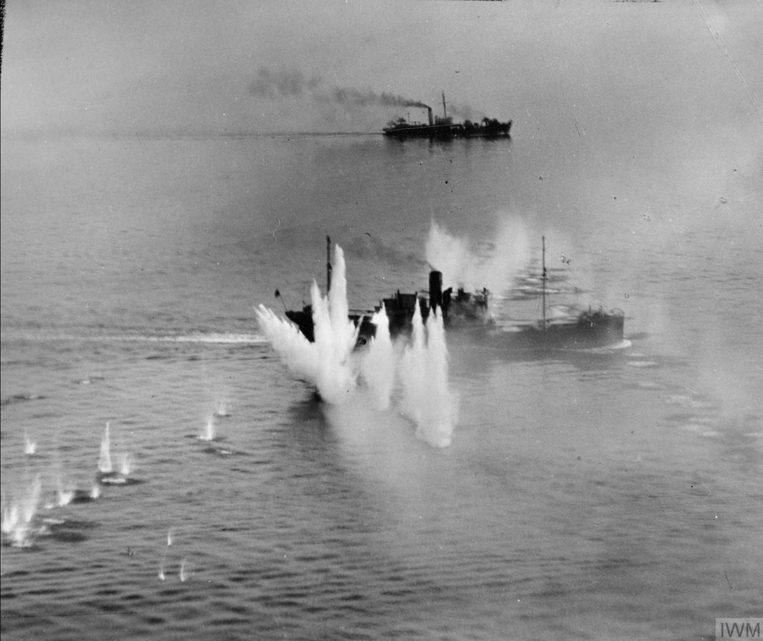 Beaufighter VIFs North Coates n Langham Strike Wings attack a merchant vessel off south west of Heligoland IWM C4451