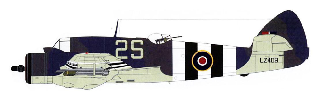Beaufighter X RAAF 455Sqn 2S LZ409 RAF Langham Scotland Apr 1944 Profile 0A