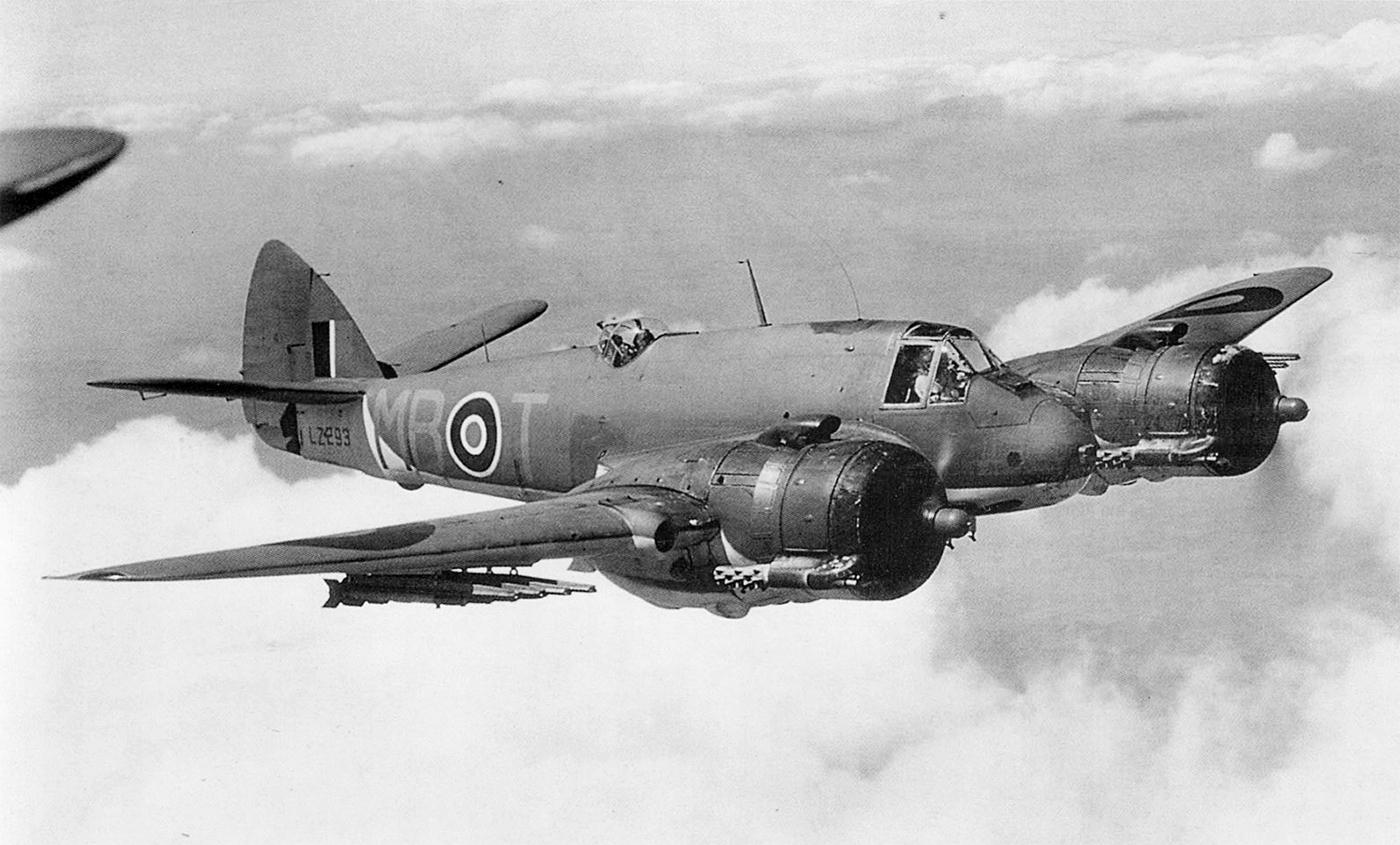 Beaufighter X RAF 236Sqn MBT LZ293 Coastal Command England IWM CH18538