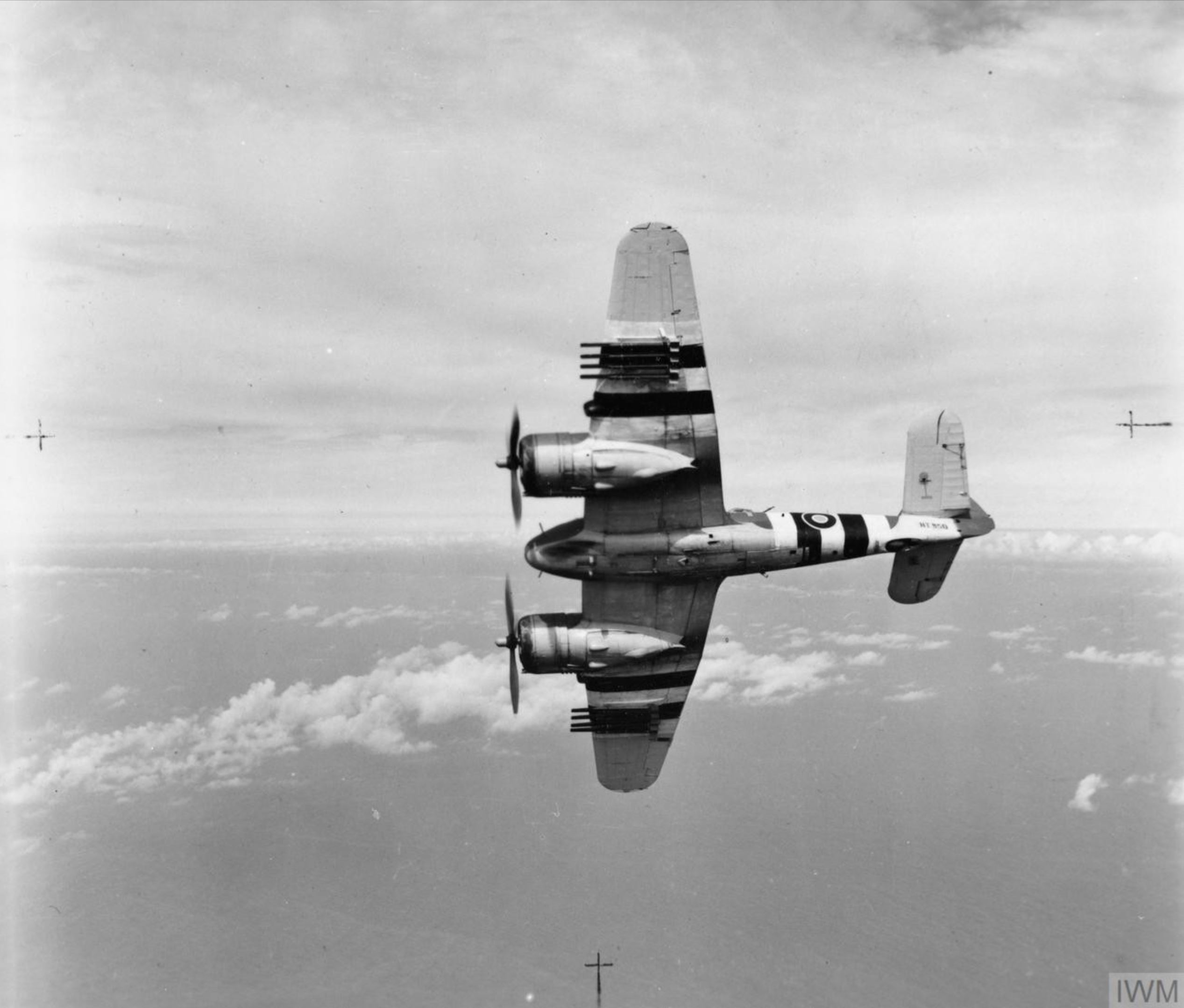 Beaufighter X RAF 236Sqn MBT NT950 based at North Coates Lincolnshire June 1944 IWM EMOS1380