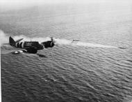 Asisbiz Beaufighter TFX RAAF 455Sqn UBE NE543 RAF Langham Norfolk over the North Sea June 1944 IWM MH5117