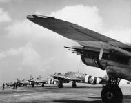 Asisbiz Beaufighter TFX RAAF 455Sqn UBN NE237 with UBH and UBE RAF Langham Norfolk 1944 IWM MH6837