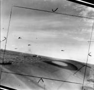 Asisbiz Beaufighter VIFs North Coates Strike Wing attack an enemy convoy off Vlieland Holland IWM C3524