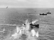 Asisbiz Beaufighter VIFs North Coates Strike Wing attack convoy off Terschelling Holland IWM C4381