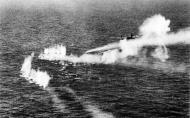 Asisbiz RAF Bristol Beaufighters at work shooting up a German coastal vessel 1944 01