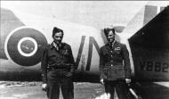 Asisbiz Aircrew RAF 68Sqn FlgOff Ladislaw Bobek r and WtOff Bohuslav Kovaric both Czech 01