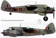 Asisbiz Beaufighter VIF RAF 307Sqn EWZ EL154 FltOff J Damsz and Sgt W Sylwestrowicz England 1943 Profile 0A