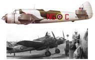 Asisbiz Beaufighter VIF RAF 604Sqn NGC MM856 WgCdr MH Constable Maxwell Scorton Aug 1943 Profile 0A
