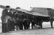 Asisbiz Beaufighter VIF RAF 96Sqn ZJR V8748 being re armed at Honiley 23rd March 1943 IWM CE20