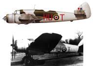 Asisbiz Beaufighter VIF RCAF 406Sqn HUT KW103 WgCdr RC Fumerton Exeter Nov 1943 Profile 0A