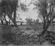 Asisbiz Beaufighter VIF RAF 600Sqn Wing Commander CP Paddy Green at Cassibile Sicily 1942 IWM CNA1185