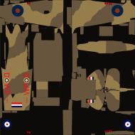 Asisbiz COD asisbiz IF RAF 89Sqn WPD X7671 SqnLdr MJ Pain Abu Sueir Egypt Mar 1942