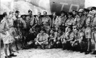 Asisbiz Aircrew RAF 153Sqn pose for a group photo in front of Beaufighter TBA Algeria July 1943 01