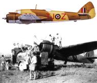 Asisbiz Beaufighter IF RAF 272Sqn TJZ X7677 FltOff Ern Coate Edku Egypt July 1942 Profile 0A