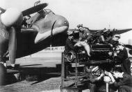 Asisbiz Beaufighter IIF Rolls Royce Merlin XX being serviced RNAS Giberaltar Jan 1944 IWM A21934