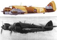 Asisbiz Beaufighter VIC RAF 227Sqn P JL519 FlgOff JRS Modera Edku Egypt Apr 1943 Profile 0A