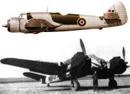 Asisbiz Beaufighter VIF RAF 153Sqn V8694 SqnLdr LH Styles Maison Blanche Algeria Jun 1943 Profile 0A