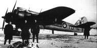 Asisbiz Beaufighter VIF RAF 255Sqn YDE X8191 Foggia Italy Feb 1945 01