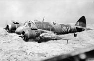 Asisbiz Beaufighter VIC RAF 272Sqn White K X8079 and V T5048 taken over Malta IWM CM5105