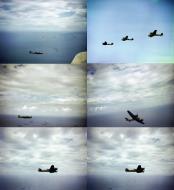 Asisbiz Beaufighter VIF RAF 272Sqn Y York T5173 escorting a convoy bound for Tripoli IWM color series 01