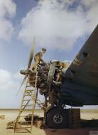 Asisbiz Beaufighter VIF RAF 272Sqn engine maintenance at Ta Kali Malta IWM TR901