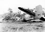 Asisbiz Beaufighter IC RAAF 30Sqn A19 55 destroyed in a Jap raid Ward Strip 27th Jan 1943 01