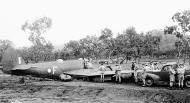 Asisbiz Beaufighter IC RAAF 30Sqn F A19 5 crash landing Ward Strip PNG 25th Nov 1942 01