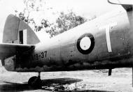 Asisbiz Beaufighter IC RAAF 30Sqn T A19 37 shrapnel damage Ward Strip PNG 12th Apr 1943 01