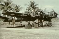 Asisbiz Beaufighter Mk21 RAAF 93Sqn SK A8 173 being serviced in the South East Pacific 02