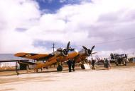 Asisbiz Beaufighter Mk21 RAAF A8 357 assigned as a target tower Woomera Australia 1957 01
