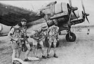 Asisbiz Beaufighter RAAF 31Sqn crews having a joke about parachutes Coomalie Creek NT Australia 1943 01