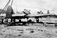Asisbiz Beaufighter VIC RAAF 30Sqn N A19 97 tail wheel repairs Ward Strip 10th May 1943 01