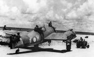 Asisbiz Beaufighter X RAAF 30Sqn LYM A19 205 being moved Noemfoor Sep 1944 01
