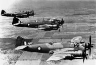Asisbiz Beaufighters IC RAAF 5OTU A19 77 formation photo shot over Wagga Wagga NSW Dec 1942 01