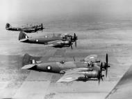 Asisbiz Beaufighters IC RAAF 5OTU A19 77 formation photo shot over Wagga Wagga NSW Dec 1942 02