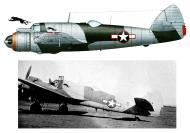 Asisbiz Beaufighter VIF USAAF 12AF 414NFS MM934 Corsica France 1944 Profile 0A