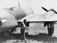 Asisbiz Beaufighter VIF USAAF 12AF 416NFS the radar operators bubble window