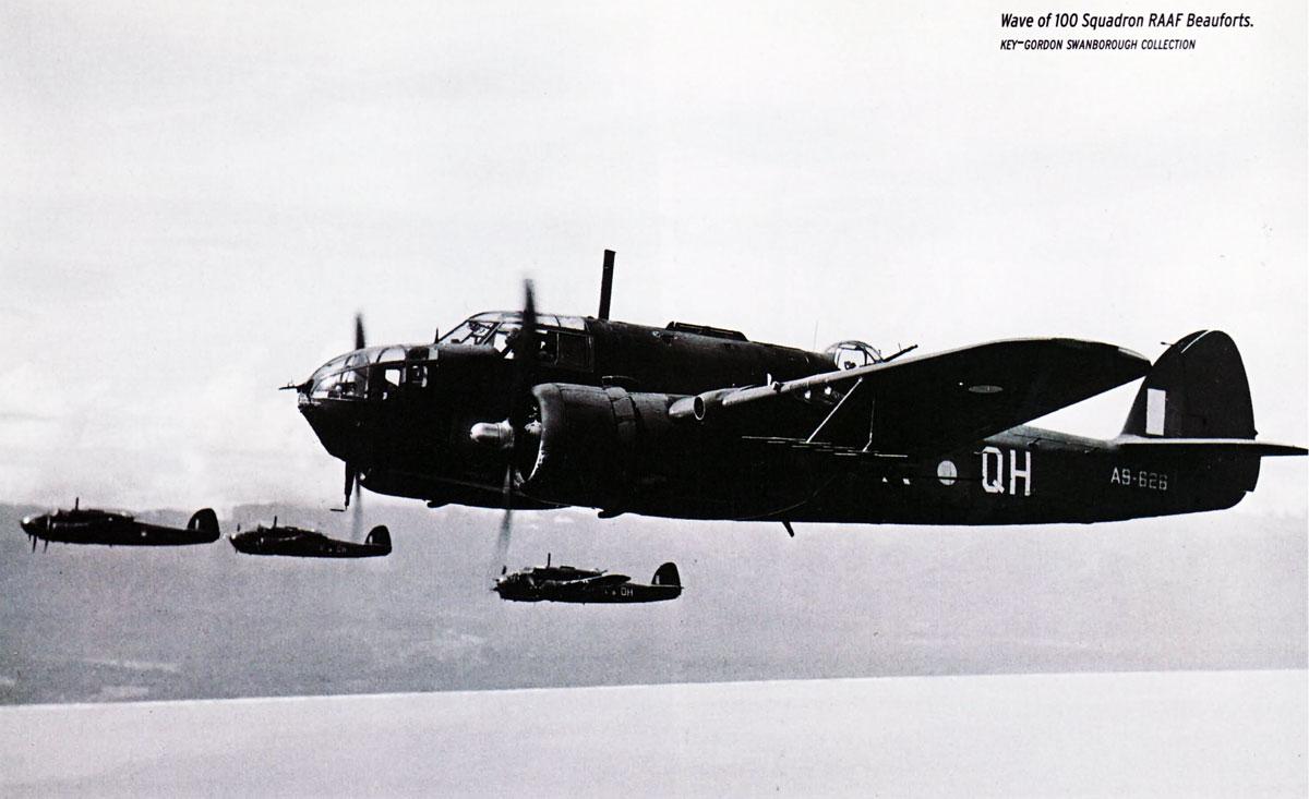 Bristol Beaufort RAAF 100Sqn QH A9 626 01