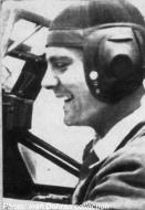 Asisbiz Aircrew FARR Ace Horia Pop in the cockpit of his Bf 109E