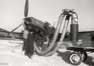 Asisbiz Messerschmitt Bf 109E7 FARR RiCa warming up the engine before a mission over the Seversky Donets river Russia Feb 1943