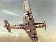 Asisbiz Messerschmitt Bf 109E0 JFS1 Black 16 aerial color photograph Germany 01
