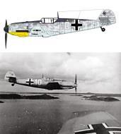 Asisbiz Messerschmitt Bf 109T2 Jagdgruppe Drontheim White 10 Trontheim Vaernes 1941 0A