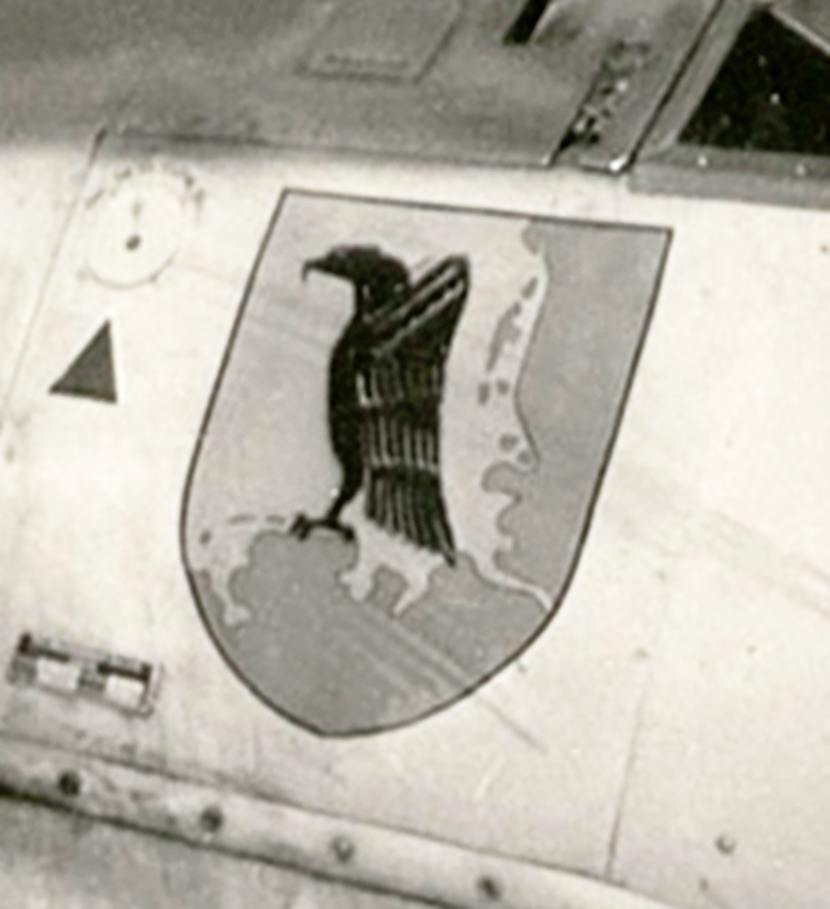 Aircraft emblem used by Stab JG1 early war 01