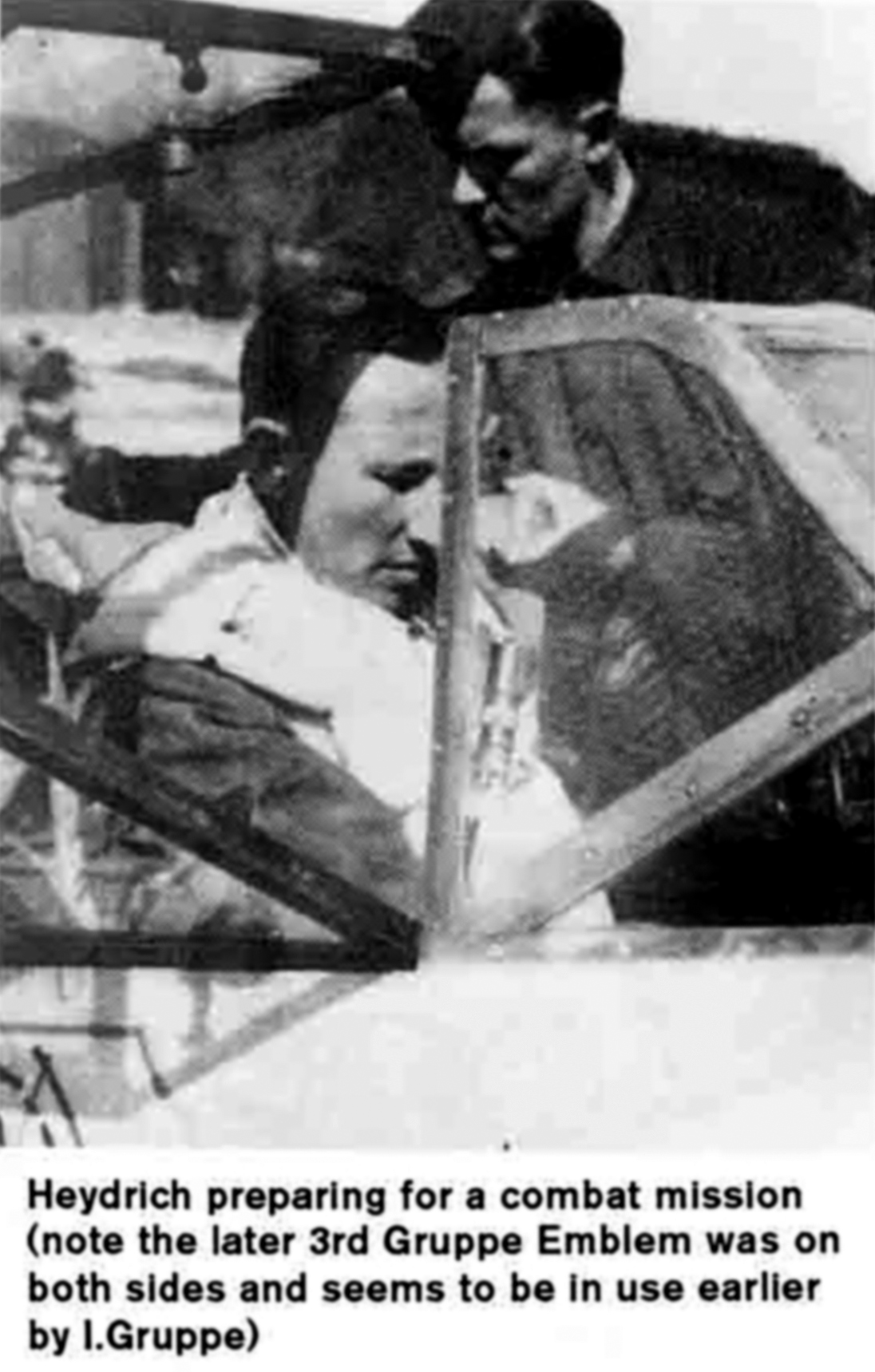 Aircrew Luftwaffe pilot SS Obergruppenfuhrer Reinhard Heydrich 01