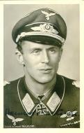 Asisbiz Aircrew Luftwaffe ace JG54 Hannes Trautloft signed 01