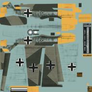 Asisbiz COD CF Bf 109E4 Stab JG26 Rolf Pingel France 1940