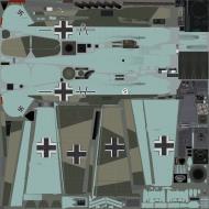 Asisbiz COD EZ Bf 109E4 JG26 Adolf Summer France 1940
