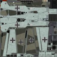Asisbiz COD EZ Bf 109E7Z 1.JG26 W8 Josef Priller WNr 7677 late 1940